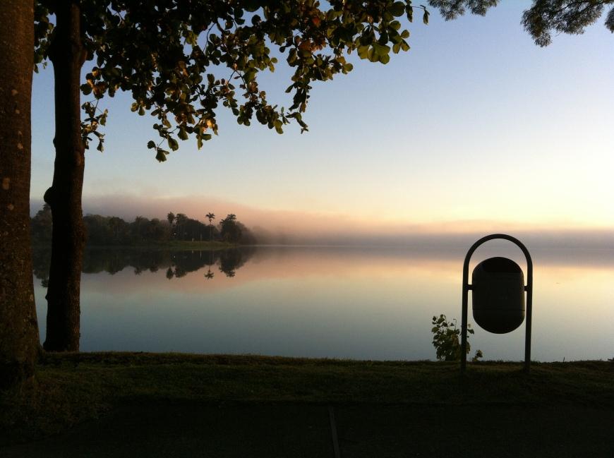 Lagoa da Pampula - 7 horas da manha